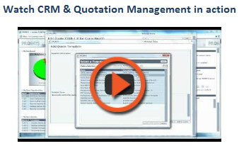 crm quoting video psa software